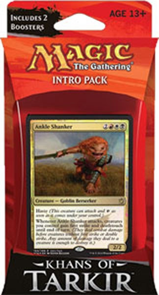 MTG - Intro Pack, Khans of Tarkir: Mardu Raiders (whiteblackred)