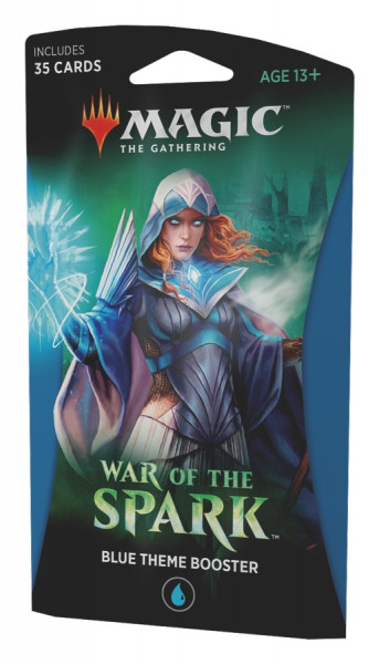 MTG - Theme Booster Pack: War of the Spark (blue)