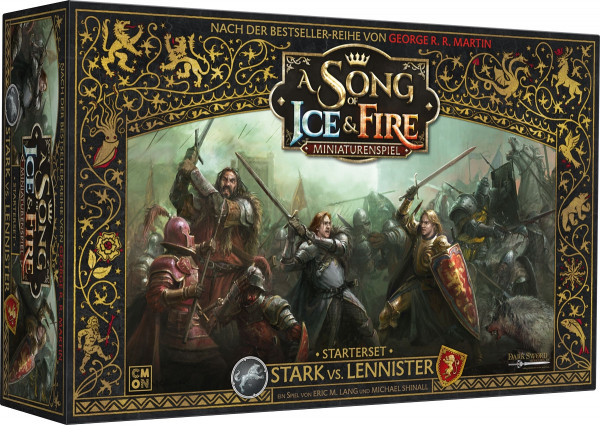 A Song of Ice & Fire: Miniaturenspiel - Starterset: Stark vs. Lennister