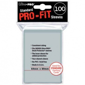 Standard Pro-Fit Sleeves (100)