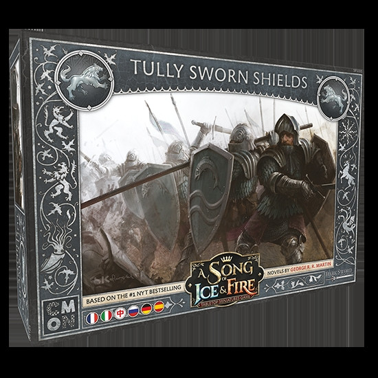 A Song of Ice & Fire - Tully Sworn Shield