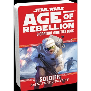 Star Wars: Age of Rebellion - Signature Abilities Deck: Soldier