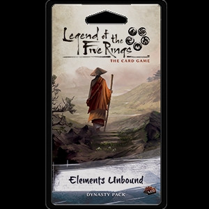 Legend of the Five Rings: The Card Game - Elemental 6: Elements Unbound Dynasty Pack