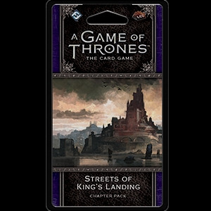 A Game of Thrones: The Card Game - Dance of Shadows 3: Streets of King's Landing Chapter Pack