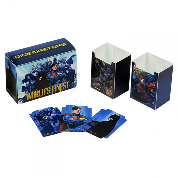 Dice Masters: DC - Team Box: World's Finest