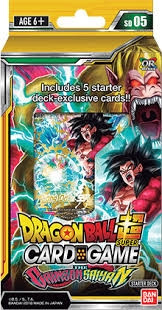 Dragon Ball Super Card Game - Starter Deck: The Crimson Saiyan