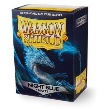 Dragon Shield - Card Sleeves: Night Blue (Matte) -Standard Size
