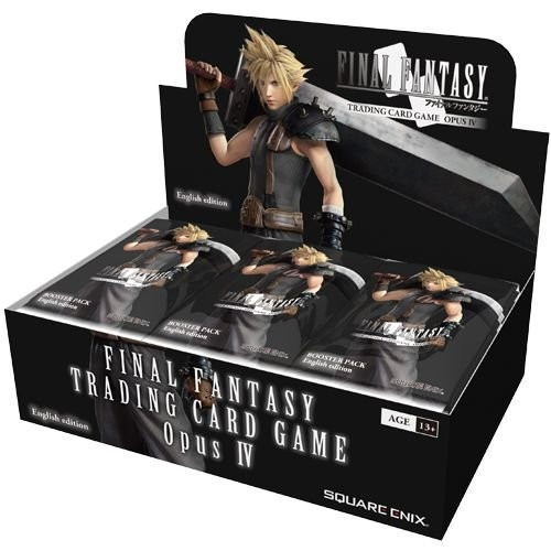 Final Fantasy TCG - Display: Opus IV