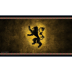 Playmat: A Game of Thrones - House Lannister