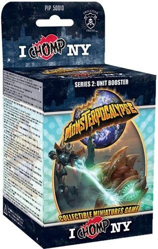 Monsterpocalypse - Series 2: I Chomp NY Unit Booster