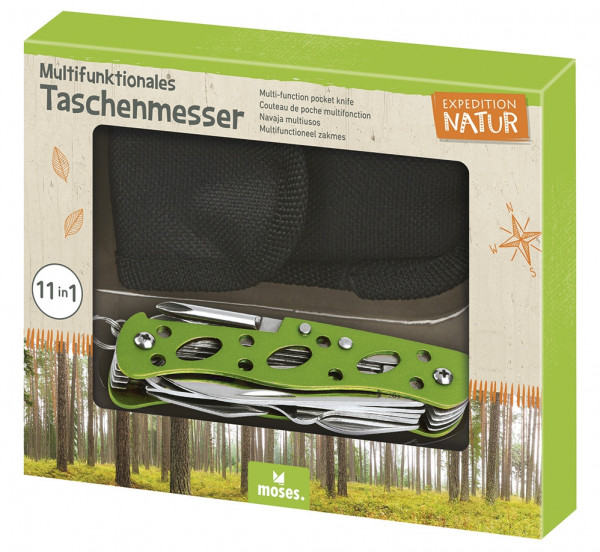 Expedition Natur Multifunktionales Taschenmesser