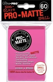 Deck Protector Sleeves - Pro-Matte Sleeves Bright Pink (50)