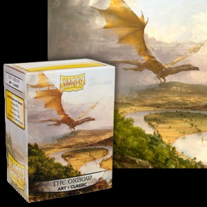 Dragon Shield - Art Sleeves: The Oxbow, Standard Size (100)