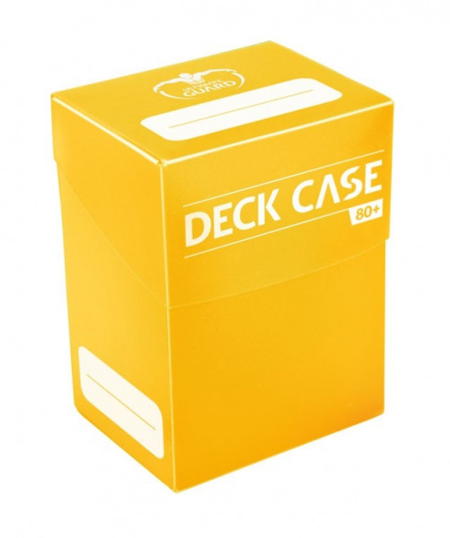 Ultimate Guard - Deck Case 80+, yellow