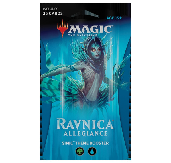 MTG - Theme Booster, Ravnica Allegiance: Simic (bluegreen)