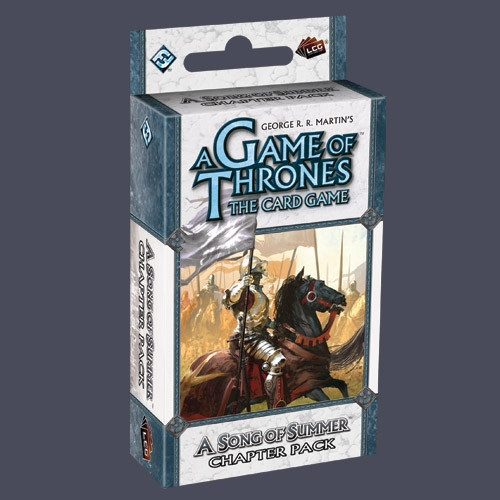 A Game of Thrones: The Card Game - A Time of Ravens 1: A Song of Summer Chapter Pack