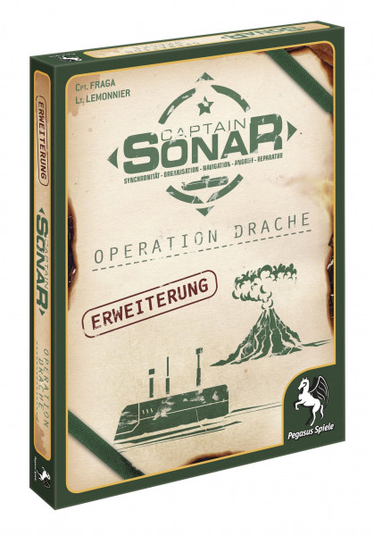 Captain Sonar - Erweiterung: Operation Drache