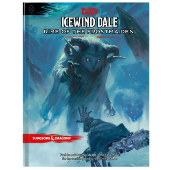 D&D RPG - Icewind Dale: Rime of the Frostmaiden