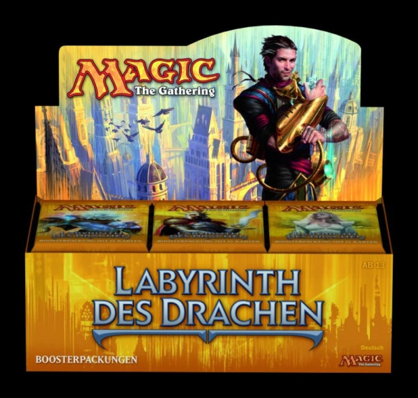 MTG - Booster-Display: Labyrinth des Drachen