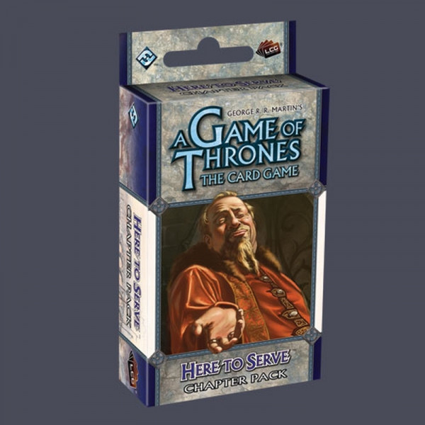 A Game of Thrones: The Card Game - Secrets of Oldtown 6: Here to Serve Chapter Pack