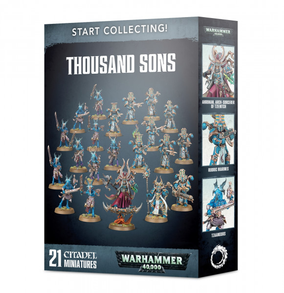 Warhammer 40,000 - Start Collecting! Thousand Sons