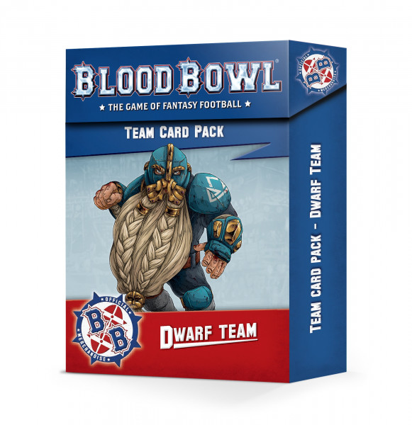 Blood Bowl - Team Card Pack: Dwarf Team
