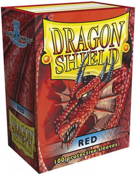 Dragon Shield - Card Sleeves: Classic Red, Standard Size (100)