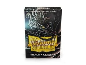 Dragon Shield - Card Sleeves: Black Classic, japanese Size (60)