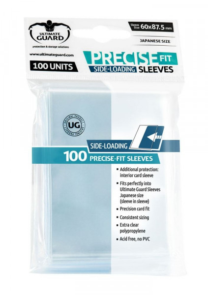 Precise Fit Sleeves - 60x87,5 mm (100), Sideloading