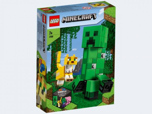 LEGO Minecraft 21156 - BigFig Creeper und Ozelot