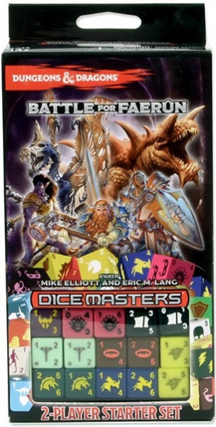 Dice Masters: Dungeons & Dragons - 2-Player Starter Set: Battle for Faerûn