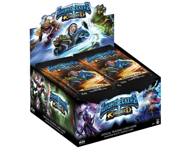 Lightseekers - Mythical + Kindred Booster Display