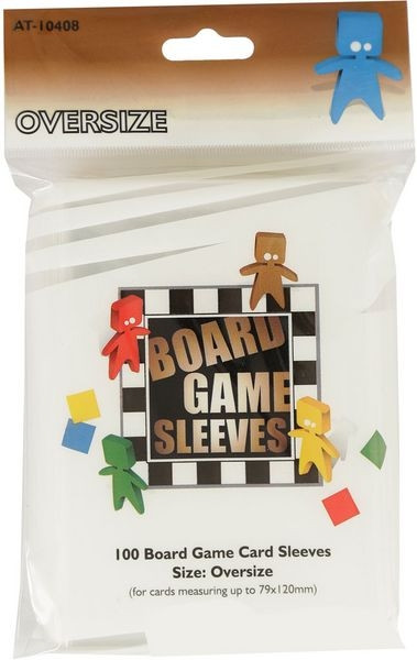Board Game Card Sleeves - Oversize 79x120 mm (100)