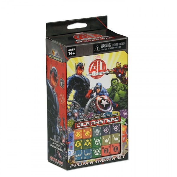 Dice Masters: Marvel - 2-Player Starter Set: Age of Ultron