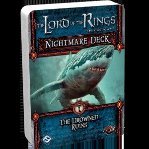The Lord of the Rings: The Card Game - Nightmare Deck: The Drowned Ruins