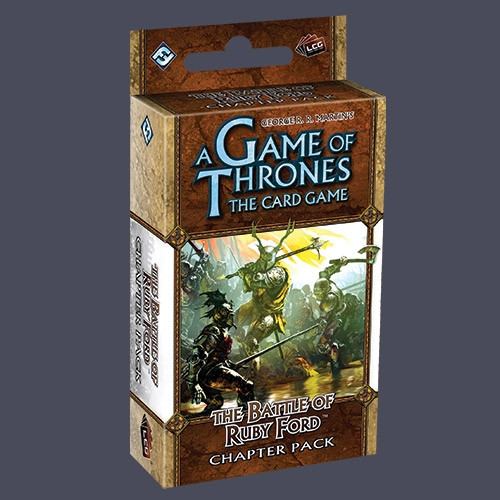 A Game of Thrones: The Card Game - A Clash of Arms 5: The Battle of Ruby Ford Chapter Pack
