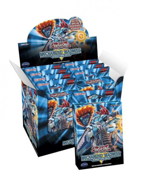 Yu-Gi-Oh! - Structure Deck: Mechanized Madness