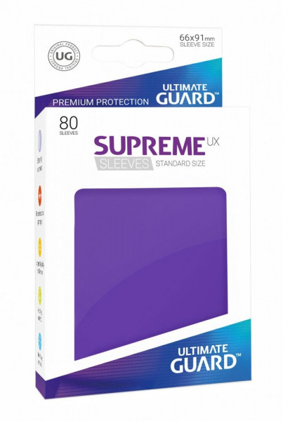 Supreme UX Sleeves - Purple