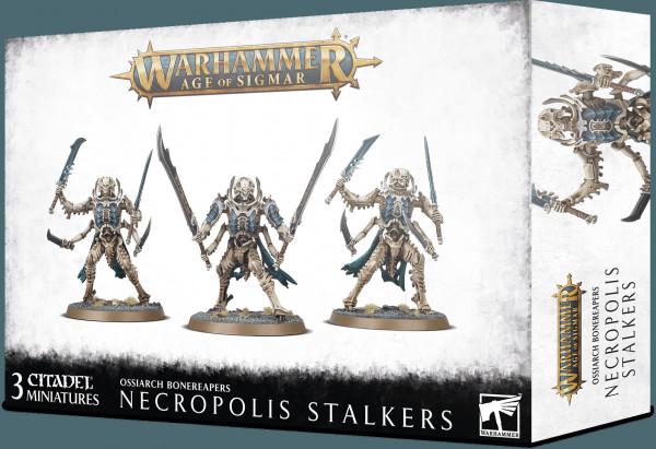 Warhammer: Age of Sigmar - Ossiarch Bonereapers: Necropolis Stalkers