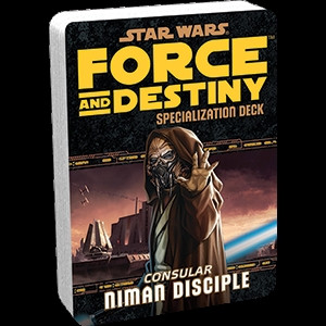 Star Wars: Force and Destiny - Specialization Deck: Niman Disciple
