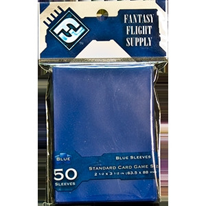 Standard Sleeves - 63,5x88 mm (Blue)