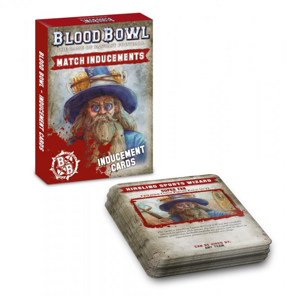 Blood Bowl - Match Inducements: Inducement Cards