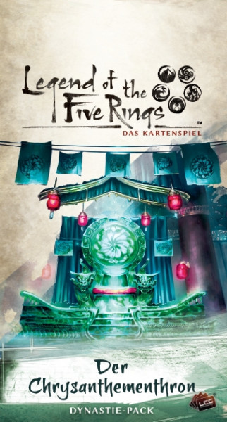 Legend of the Five Rings: Das Kartenspiel - Kaiserreich 4: Der Chrysanthementhron Dynastie-Pack