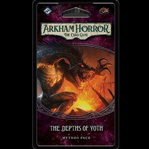 Arkham Horror: The Card Game - Forgotten Age 5: The Depths of Yoth Mythos Pack