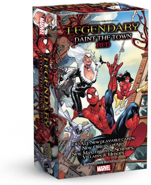 Legendary: Marvel - Expansion: Paint The Town Red