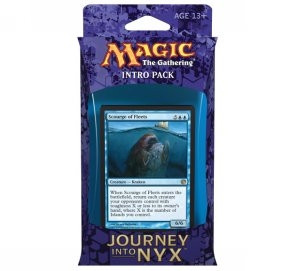 MTG - Intro Pack, Journey into Nyx: Fates Foreseen (bluered)