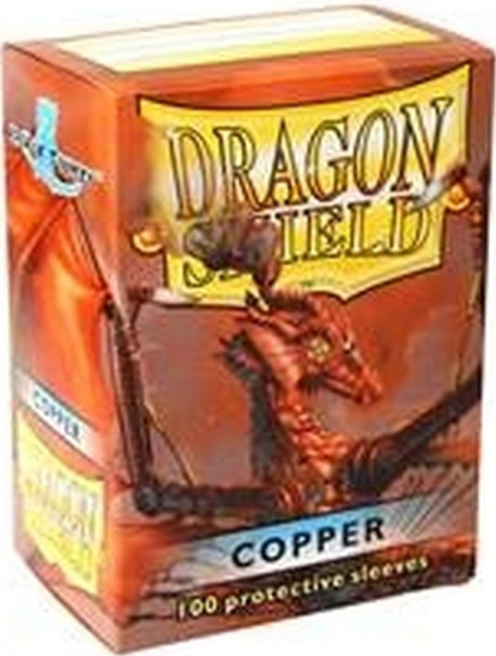 Dragon Shield - Card Sleeves: Classic Copper, Standard Size (100)