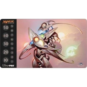 "Play Mat - MTG: Scars of Mirrodin ""Etched Champion"""