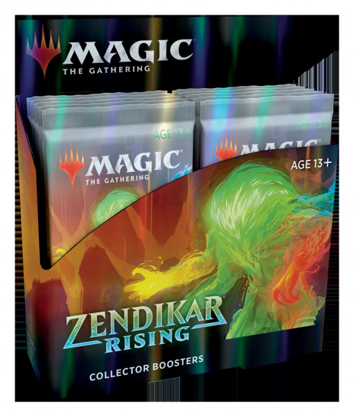 MTG - Collector Booster Display: Zendikar Rising