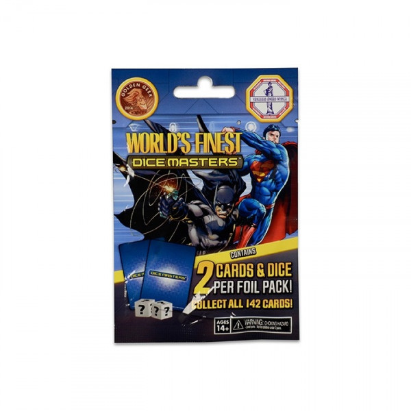 Dice Masters - World's Finest: Booster (Foil Pack), dt.